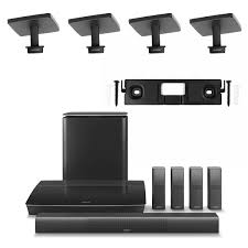home theater systems bose bose lifestyle 650 system with 4 omnijewel ceiling brackets u0026 1