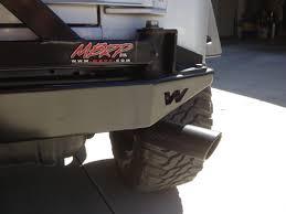 jeep wrangler back mbrp wrangler black series cat back exhaust s5500blk 00 06