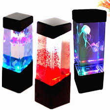 Fish Tank Desk by Creative Led Light Glowing Aquarium Mini Fish Tank Relax Home