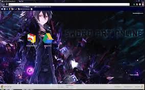 theme google chrome sword art online sword art online kirito infection chrome web store