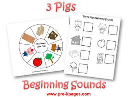 pigs preschool activities