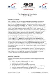 Certified Software Quality Engineer Software Testing Training Test Engineering Foundation Course