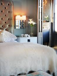 Mirrors Above Nightstands Best Ideas About Mirrors Behind Lamps Grey Also Bedroom For