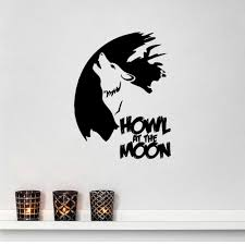 online get cheap sticker letters for walls aliexpress com diy howling wolf with english letter art removable wall sticker for living rooms bedroom decoracion door