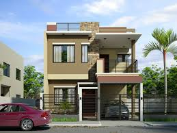 simple two storey house design home design modern double storey houses house plans in the simple