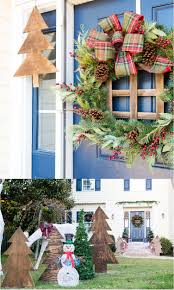christmas ideas for outsidemas decorating outdoor lawn