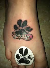 42 best dog tattoos on foot images on pinterest art butterflies