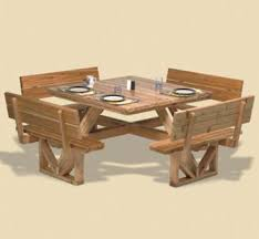 Free Large Octagon Picnic Table Plans Easy Woodworking Solutions by 14 Best Outdoor Benches And Tables Images On Pinterest Tables