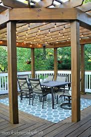 Outdoor Pergola Lights by Outdoor Pergola String Lights Home Design Ideas Pergola String