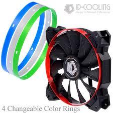 high cfm case fan 4 color optional gaming theme high static pressure 84 5cfm big