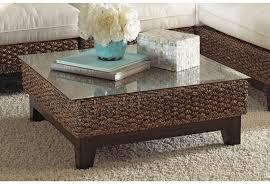 panama jack sanibel 6 piece sectional wicker living room set from