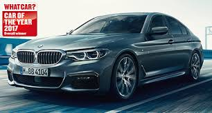 bmw car of the year bmw bmw 5 series saloon wins what car car of the year 2017