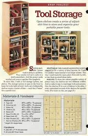 Wood Storage Shelves Plans by 1351 Best Shop Organization U0026 Storage Images On Pinterest