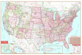 mileage map united states 108x72 laminated wall map universalmap wall maps