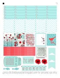 erin condren life planner free printable stickers stick to your plan free printable for personal use only fits erin