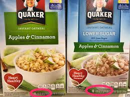 Quaker Memes - quaker oatmeal advertises 35 less sugar but in reality they re