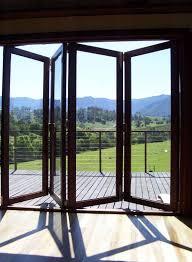 door astounding best folding glass doors folding glass shower