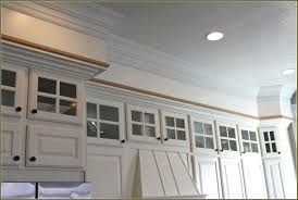 How To Add Crown Molding To Kitchen Cabinets How To Add Trim Bottom Of Kitchen Cabinets Kitchen