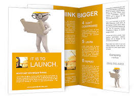 engineering brochure templates 3d person with project engineer brochure template