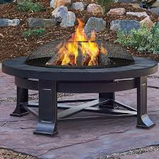 wood burning fire table real flame steel wood burning fire pit reviews wayfair fire pits