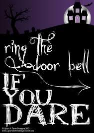 halloween door bells u0026 funny notes