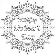 mothers day card template 12 free printable word pdf psd eps