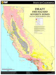 Map Of Venice Beach Cal Fire California Fire Hazard Severity Zone Map Update Project