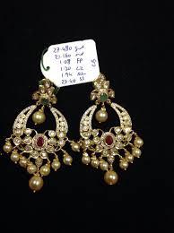 chandbali earrings polki chandbali earrings boutiquedesignerjewellery