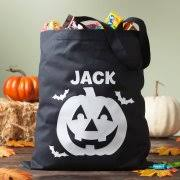 personalized glow in the dark halloween treat bag 5 spooky styles