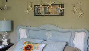 31 coastal decor ideas perfect for your home hometalk redecorate your headboard with a sea horse