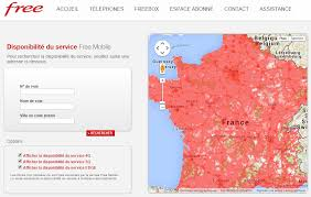 free mobile met 罌 jour sa carte de couverture 3g