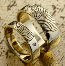 fingerprint wedding bands fingerprint wedding rings in dubai customised engagement rings