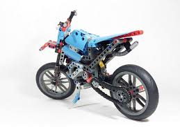 lego technic motocross bike 42036 c model supermoto bricksafe