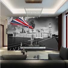 online buy wholesale london mural wallpaper from china london beibehang custom wall paper 3d wallpaper bar modern personalized retro nostalgia london wall mural wallpaper for