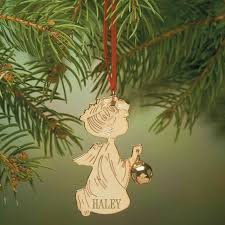 personalized ornament brass ornament kimball