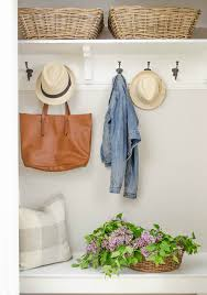 turn a coat closet into a mini mudroom the diy hubs