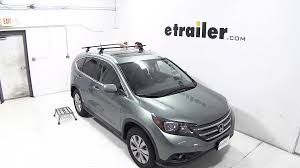 Luggage Rack For Honda Odyssey by Installation Of A Thule Podium Roof Rack On A 2012 Honda Cr V