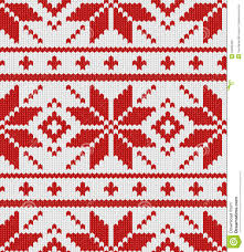 knit christmas scandynavian knitted pattern stock photography image 34839492