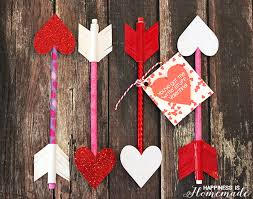 homemade valentines day gifts heart pencil arrow valentines printable gift tag happiness is