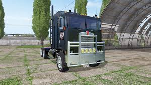 2017 kenworth cabover kenworth k100 cabover caterpillar for farming simulator 2017