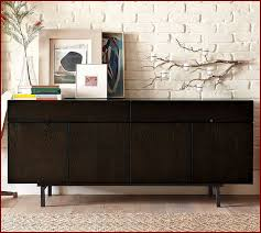 Bush Wheaton Corner Computer Desk Modern Console Table With Storage Black Stylish Two Drawers And