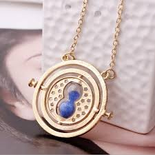 hermione necklace images Time turner necklace harry potter hermione granger rotating jpg