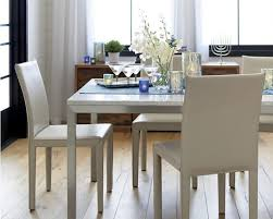 crate and barrel dining table set dining rooms marble and stainless steel coffee table from crate