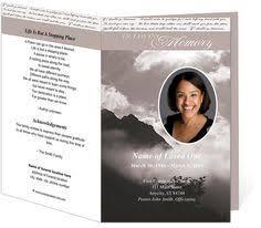 Funeral Program Maker Free Funeral Program Templates Funeral Program Sample Order Of