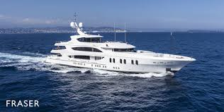 m y lady sara motor yacht for charter fraser