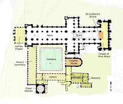 Cathedral Floor Plan Areas Of Interest Durham World Heritage Site