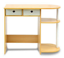 Computer Desk For Small Space Particle Board Desks And Home Office Furniture Ebay