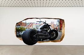 startonight harley davidson glow in the dark 3d mural gadget flow