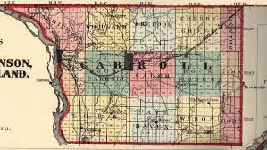 Map Of Illinois And Missouri by Carroll County Illinois Maps And Gazetteers