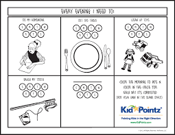 daily routine charts for kids collection 25 pages personal hygiene
